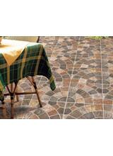 Πλακάκια Εξωτερικού Χώρου  Savoia Framenti di Quarzite 34x34