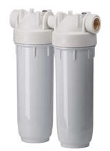 Φίλτρο νερού παροχής Διπλό λευκό