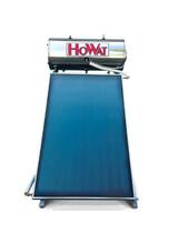 Ηλιακός Θερμοσίφωνας Howat  Inox 120lt/2m2 Διπλής Ενέργειας με Επιλεκτικούς  Συλλέκτες