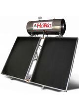 Ηλιακός Θερμοσίφωνας Howat  Inox 300lt/4,5m2 Τριπλής Ενέργειας με Επιλεκτικούς  Συλλέκτες