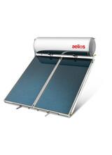 Ηλιακός Θερμοσίφωνας Nobel Aelios 200lt/3m²  Διπλής ενέργειας με δοχείο Glass και με επιλεκτικό συλλέκτη AELIOS