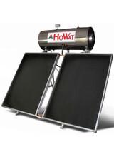 Ηλιακός Θερμοσίφωνας Ηowat GLASS  200Lt / 4m2 (Τριπλής  Ενέργειας)  Επιλεκτικοί Συλλέκτες