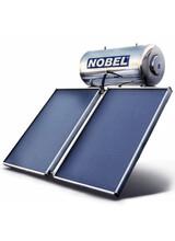 Ηλιακός Θερμοσίφωνας Classic Nobel  200lt/3m2 (2Χ1,5m2 )Τριπλής Ενέργειας με Δοχείο Inox