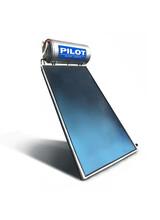 Ηλιακός θερμοσίφωνας Pilot 120 lt Glass τριπλής ενέργειας 2.00m2 επιλεκτικό συλλέκτη