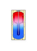 Δοχεία Αδρανείας Buffer Τank in Tank Cosmosolar 1500LT (COS DA0 TT 1500) χωρίς εναλλάκτη