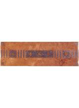 Πλακάκια Δαπέδου Hatz Listelo Geologia Rojo 14x45cm