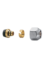 Σύνδεσμος πολυστρωματικής σωλήνας 18x2 Brass Form 00 - 02 - 03