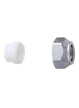 Σύνδεσμος σωλήνας χαλκού Φ18 (τεφλόν) Brass Form 04 - 05