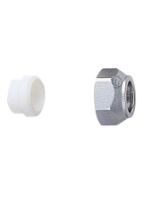 Σύνδεσμος σωλήνας χαλκού Φ16 (τεφλόν) Brass Form 04 - 05