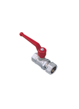 Σφαιρική Βάνα Ύδρευσης για σύνδεση σωλήνας χαλκού Φ22 Brass Form 117