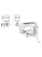 Μειωτήρας ηλεκτροβάνας Brass Form 1900 Smart Form