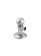 Γωνιακός Διακόπτης Lux Form Chrome Brass Form 216