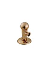 Γωνιακός Διακόπτης Lux Form Oro Brass Form 218