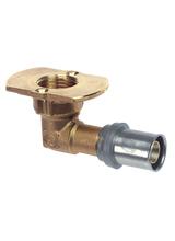 Press Form Γωνία Υδροληψίας 18x2 με βάση Brass Form 811 (Ορειχάλκινο)