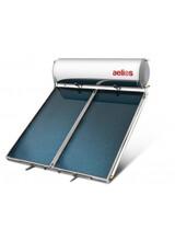 Ηλιακός Θερμοσίφωνας Nobel Aelios 200lt/4m² τριπλής ενέργειας με δοχείο Glass και με μαύρης βαφής συλλέκτη AELIOS