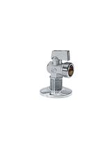 Σφαιρικός Γωνιακός Διακόπτης Χρωμέ Petit 3/4x1/2 Brass Form 312